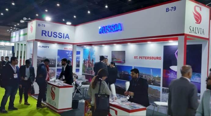 russia exhibition in india