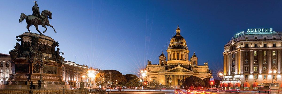 We're The Official Partners of Visit-Saint Petersburg
